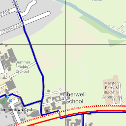 Oxford Cycle Map